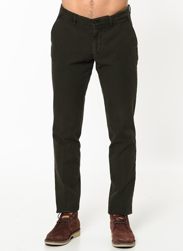 Beymen Business Slim Fit Chino Pantolon Yeşil